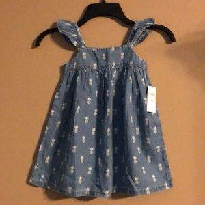 New Gap beautiful denim dress size 3Yrs